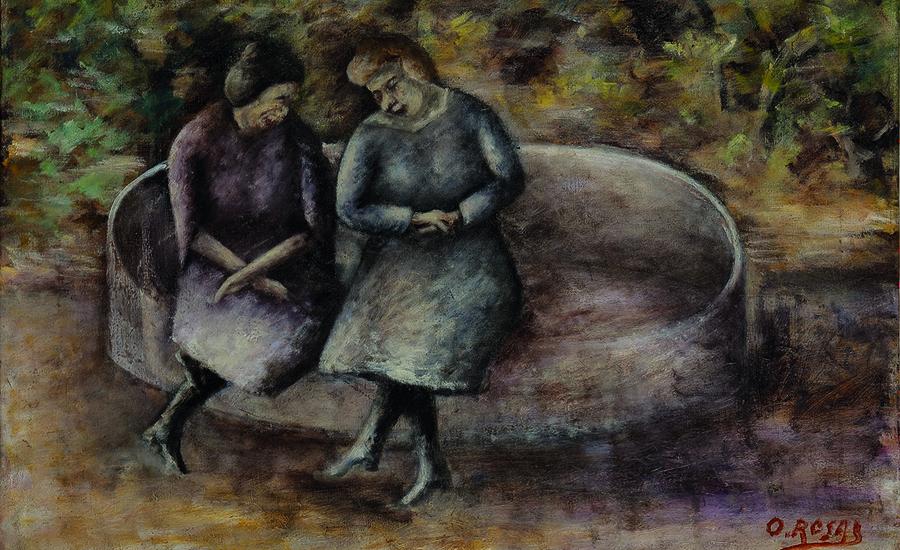 Ottone-Rosai-Donne-sulla-panchina-(1923-24)-Olio-su-tela-250