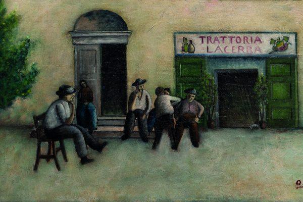 Ottone-Rosai-Trattoria-Lacerba-(1921)-olio-su-tela-applicata-su-tavola